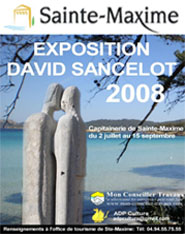 affiche-sancelot-david-sainte-maxime
